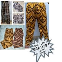 celana panjang batik/boim/dewasa/pria/wanita