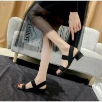 Sepatu sandal wanita sendal hak tahu big heels dd 20