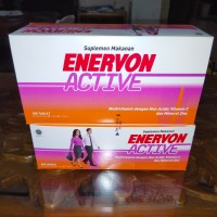 Enervon Active Vitamin C 500mg Kemasan BOX Isi 25 Strip 100 Tablet