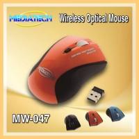 MEDIATECH Wireless Optical Mouse Mini MW-047 (Mouse Wireless)