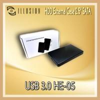 "ILLUSION HDD External Case 2.5"" SATA USB 3.0 HE-05"