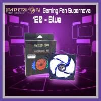 IMPERION Gaming Fan Supernova 120 - Blue (Gaming Fan)