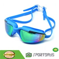 RUIHE Kacamata Renang Anak Dewasa Anti Fog UV Protection-RH5310-Blue