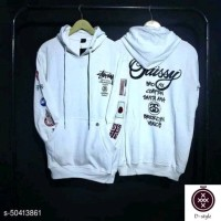 Sweater hoodie Stussy flag country-white