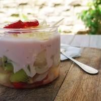 Salad Buah/Fruity Creamery Salad in a jar @300ml