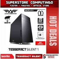 Armaggeddon TESSERACT SILENT 1 Micro ATX PC Case - Extreme Silent