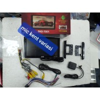 Head Unit double din Android DHD 7001/DHD-7001 mobil CRV