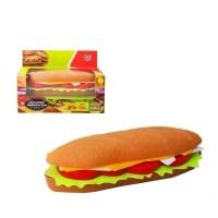 Mainan DIY Susun Makanan Hotdog