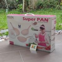 Bolde Super Pan Set 3+1pcs Beige/ Bolde Wok Pan Set/ Bolde Fry Pan Set