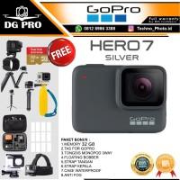 GOPRO HERO 7 SILVER PAKET BONUS 64GB - GO PRO HERO7 SILVER 4K WIFI
