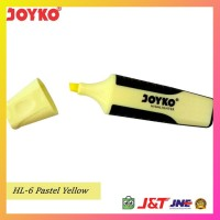 Joyko Highlighter HL-6 - Yellow Pastel