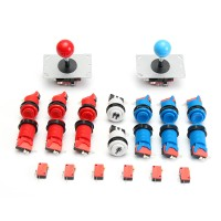 Joystick Push Button Start Button Micro Switch DIY Kit For Tech Inov
