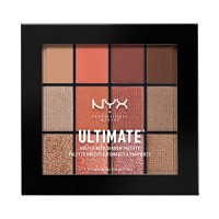 NYX PROFESSIONAL MAKEUP Ultimate Shadow Palette, Eyeshadow Palette, Wa
