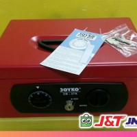 Cash Box Joyko CB-27A Kunci Ganda, Size 27,3 cm x 20,4 cm x 11,7 cm
