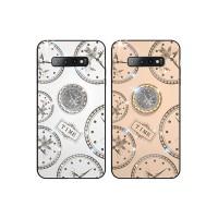 Magnetic Finger Ring Diamond Clock Case Samsung S10 Plus S9 A6 Plus A