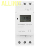 Allinit Weekly Timer Switch Microcomputer On Off Control LCD Display