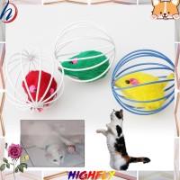 Pet Cat Lovely Kitten Gift Funny Play Toys Mouse Ball Brand New HF