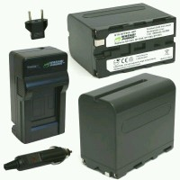Paket Wasabi Power Battery 2-Pack 8500mAh Rechargeable and Travel