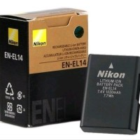batre kamera nikon dslr D3100 d3200 D3300 baterai en el14 battery