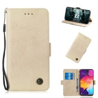 Magnetic Wallet Genuine Leather Case Samsung A50 A30 A9 2018 A750 A6