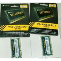 memory corsair Sodimm laptop 8GB DDR3L pc12800 1600mhz
