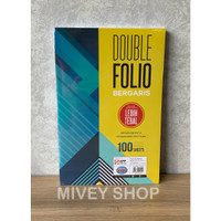 Kertas Double Folio Bergaris Sidu - 100 Lembar