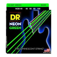 hoot sale Senar Bass DR Strings, K3 Neon Hi-Def Green Bass, NGB-40