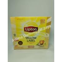 Lipton Yellow Label 100 Tea Bag Envelope / Teh Lipton / Teh Hitam
