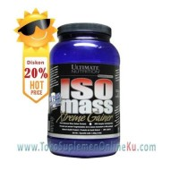 Ultimate Nutrition ISO MASS Xtreme Gainer isi 3,5 lbs Vanilla Murah