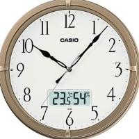 Jam Dinding Wall Clock Casio Ic-01 Ic 01 7Df Analog Digital Original