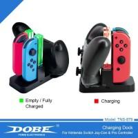 Ready Nintendo Switch Dobe Charging Dock Joy-Con & Pro Controller