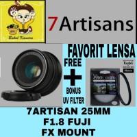 LENSA 7ARTISAN 25MM F1.8 FUJIFILM FX MOUNT/ 7 ARTISAN FUJI