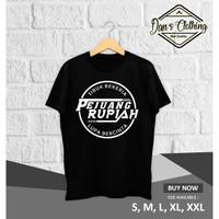 Kaos Distro / Kaos Sablon / Kaos Ungkapan / Kaos Kata Pejuang Rupiah