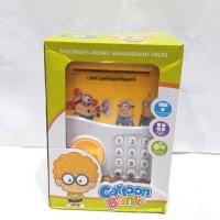 mainan ATM Celengan brangkas/ cartoon bank Minion 177747 AM 0306