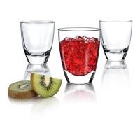 Borgonovo Alpi DOF 220 Glass Gelas Cantik Coffee Made in Italy (6 pcs)