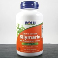 Now Foods Silymarin double Strenght Milk Thistle 300 Mg 100 Caps