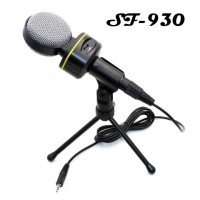 SF-930 Studio Wired Professional Condenser Microphone with Tripod Stan