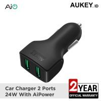 Aukey Car CC-S3 Charger 2 Ports 24W AiQ - 500166