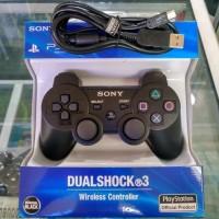 Stik Stick PS3 Wireless Controller n Kabel usb charge Paket Hemat ps 3