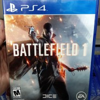 Bd / Kaset Ps4 Battlefield 1 Ps4 Second / Bekas