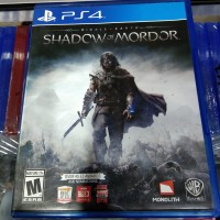 Bd / Kaset Shadow Of Mordor Ps4 Second / Bekas