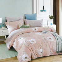 Osaka Set Sprei dan Bed Cover SJP 149 Sateen Jepang - Single Size