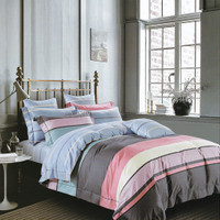 Osaka Set Sprei dan Bed Cover SJP 147 Sateen Jepang - Single Size