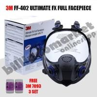 3M FF-402 Ultimate FX Full Facepiece Reusable Respirator