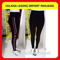 Celana Leging Panjang Import Wanita Motif Terbaru