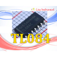 TL084 Quad High Slew Rate JFET-Input Operational Amplifier SOIC-14