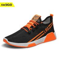 Sepatu Sneakers Olahraga Pria Import Ambigo LRG Running Shoes Premium