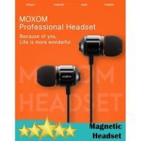 MOXOM MX-EP08 MAGNETIC ATTRACTION PREMIUM EARPHONE 3.5MM - HIFI SOUND