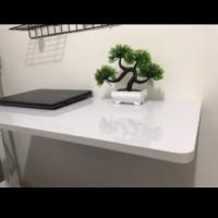 Meja Lipat Dinding / Meja Komputer / Meja lipat / Rak P 60cm x L 40cm