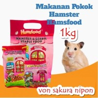 Hamsfood hamster & gerbil food makanam hamster 1KG